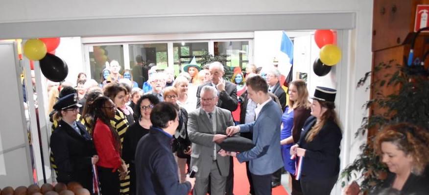 inauguration par le Maire de Longuenesse