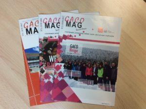 Les magazines GACO parus