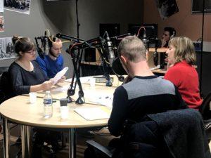 Photo de l'émission de radio